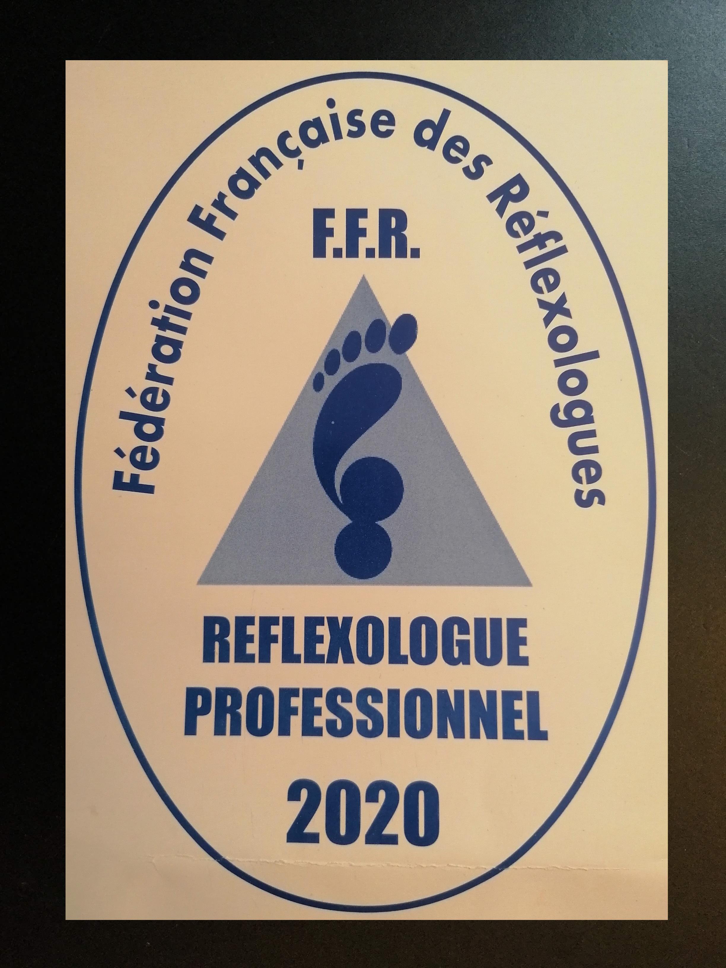 Réflexologue professionnel 2020
