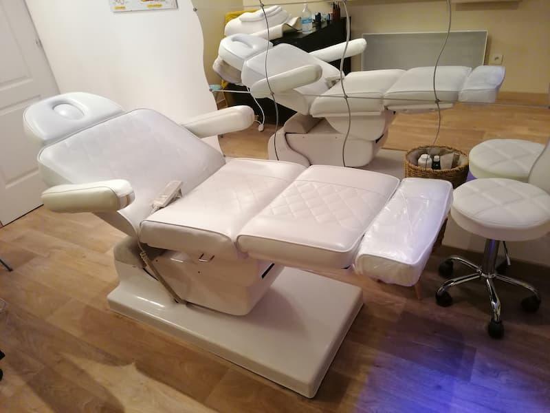 Réflexologie : fauteuil chauffant à inclinaison variable